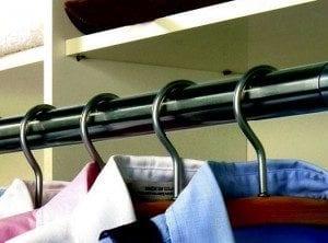 Garderobestenger / tilbehør